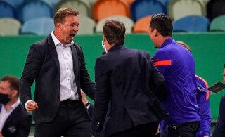 Leipzigi peatreener: meil oli Simeonega vaheajal väike tüli