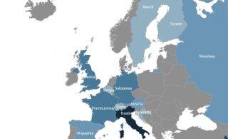 INTERAKTIIVNE KAART | Koroonakolded üle Euroopa. Iga päev toob uusi haigestunuid