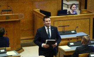 BLOGI, FOTOD ja VIDEO   Riigikogu andis pärast neljatunnist küsitlusvooru Jüri Ratasele valitsuse moodustamiseks rohelise tule