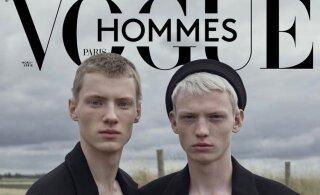 ФОТО | Парень из Эстонии попал на обложку французского журнала Vogue