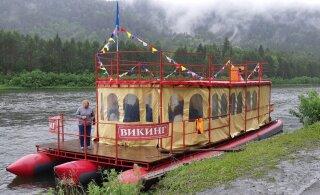 FOTOD   Maalehe Siberi-reisi kolm esimest päeva jaaniõhtu, unikaalse mäestikuharu ning vihmase parvereisiga