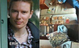 Горы запрещенных веществ и человеческий череп. Сын крупного бизнесмена развернул наркобизнес в Каламая