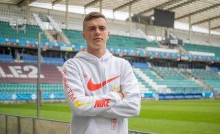 INTERVJUU | Kolmanda Eesti jalgpallurina suurliigasse jõudnud Tunjov: minu suurt tööd märgati ja seejärel juba usaldati