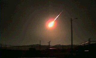 Tšiili taevas tuhisesid mõistatuslikud tulekerad, mis polnud meteoriidid