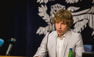 Minister Kiik Rally Estoniast: kui me käitume nii, nagu need, kes seda viirust Tartus levitama hakkasid, võime rahuliku elu ära unustada