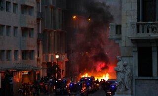 Эстонец в центре протестов в Каталонии: настоящей революции здесь нет