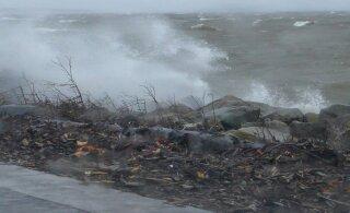 Lähipäevade ilm jääb tormiseks, merel võib laine olla kuni 7,5 meetri kõrgune