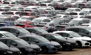 Uute autode müük tegi jaanuaris tugeva languse