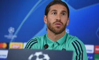 Sergio Ramos astus Zidane'i kaitseks välja: ta väärib austust oma töö eest