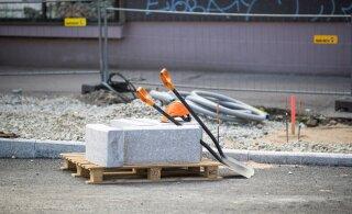 В Ласнамяэ проходит масштабный ремонт дорог. Возможны ограничения