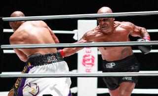 Mike Tyson tunnistas, et tõmbas end enne tagasitulekumatši pilve