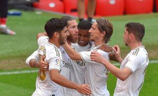 VIDEO | Madridi Real alistas Bilbao ja astus tiitlile sammu ligemale
