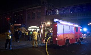 ВИДЕО: В Берлине сгорел поезд с футбольными фанатами