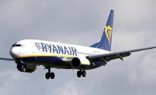 Ryanairi tellitud Boeingu lennukilt kadus katastroofidega seostatav nimetus Max