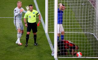 Mourinho kummitas taas Arsenali, Leicesterit tabas kollaps