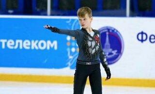 ВИДЕО: 12-летний российский фигурист сделал прыжок в пять оборотов