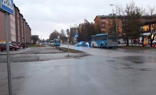ВИДЕО | В Кохтла-Ярве были обстреляны два автобуса. Подозреваемые задержаны