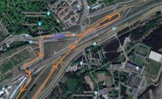 КАРТА | В понедельник туннель Ярвевана будет закрыт на время съемок фильме
