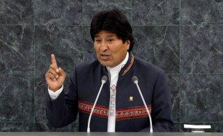 Президент Боливии Моралес ушел в отставку под давлением военных