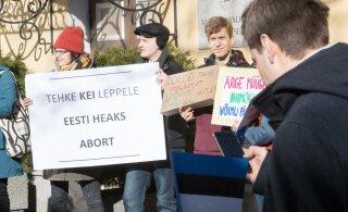 Protestijad korraldavad järgmisel nädalal EKRE valitusse kaasamise vastu meeleavaldust