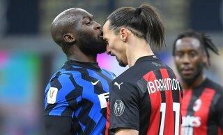 Vihane Zlatan saatis Lukaku suunas kummalise solvangu ning mõnitas vastast hiljem veelgi