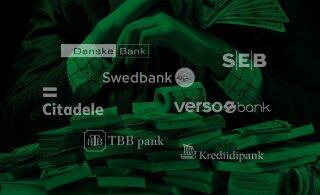 Suur ülevaade. Seitsme Eesti panga rahapesukahtlused Putinist terroristideni