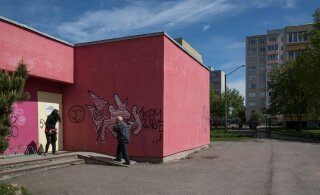 На выходных в Ласнамяэ создадут объект уличного искусства