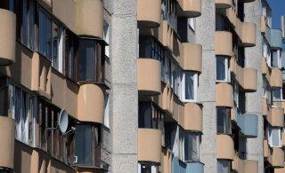 Все больше многоэтажек советской постройки в Эстонии нуждаются в капремонте
