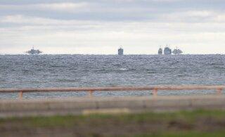 FOTOD | Tallinna lahes nägi lahkuvaid NATO sõjalaevu