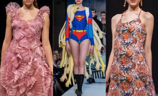 Delfi на Таллиннской неделе моды 2019: Щупальца и мутации, дикие животные и переезд в Тарту