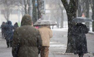 Ilmaprognoos: uue nädala algus toob lörtsihood ning ka päeval on soojakraade õige napilt