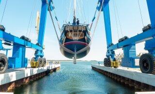 FOTOD | Nasva sadamas veeskati Antarktika ekspeditsiooni purjelaev