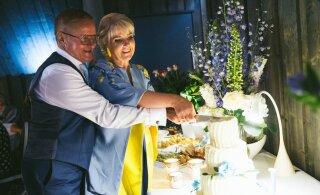 EKSKLUSIIVSED FOTOD   Tipp-poliitik Jaak Aab abiellus kuldses eas: hakkasin juba lootust kaotama
