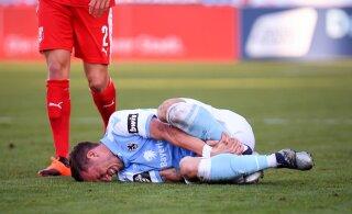 Vastasmängija peenist hammustanud jalgpallur sai viieaastase võistluskeelu