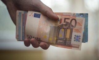 При помощи предпринимательских счетов собрано налогов на сумму более миллиона евро