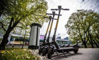 ФОТО и ВИДЕО | Конкуренция становится все жестче! В Таллинне аренду электросамокатов предлагает еще одна фирма