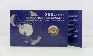 ФОТО | Банк Эстонии выпускает монеты, посвященные 200-летию открытия Антарктиды