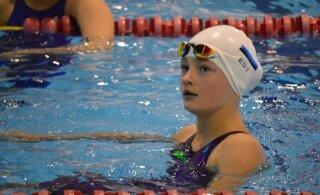 Силламяэский талант Энели Ефимова: 18 золотых медалей и 10 рекордов Эстонии