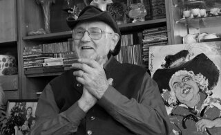 Скончался карикатурист Хуго Хийбус