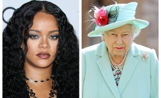 Uue ajastu algus? Rihanna fännid tahavad kuninganna Elizabeth II troonilt lükata