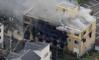 В Японии из-за пожара на студии аниме Kyoto Animation погибли 12 человек