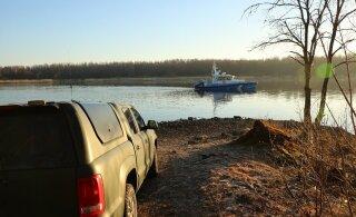 Пограничники Идаской префектуры задержали на реке Нарва нарушителя границы