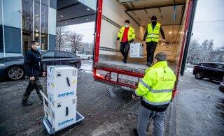 На прошлой неделе в Таллинне были испорчены 300 доз вакцины