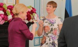 ФОТО | Керсти Кальюлайд устроила торжественный ужин в честь президента Хорватии