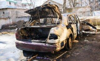 В Ласнамяэ асоциал обустроил себе жилище в брошенном автомобиле