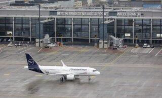 FOTOD | Üheksa aastat üle tähtaja läinud Berliini uus lennujaam alustas lõpuks tegevust