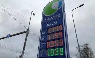 """""""Черная пятница"""" на топливном рынке: Neste снизила цены на заправках, за ней последовали Circle K и Olerex"""