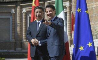 Hiina president meelitab Euroopa suurriike osalema kahtlusi äratavas projektis