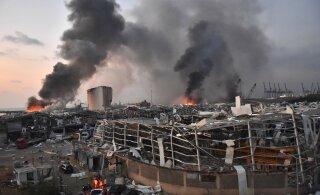 ФОТО и ВИДЕО | Cловно ядерный гриб: в Бейруте произошел мощнейший взрыв. Более ста погибших, тысячи раненых