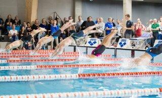 Rekordite sadu: Eesti noored ujujad näitasid meistrivõistlustel head taset
